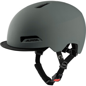 Alpina Brooklyn Helmet, coffee grey matt